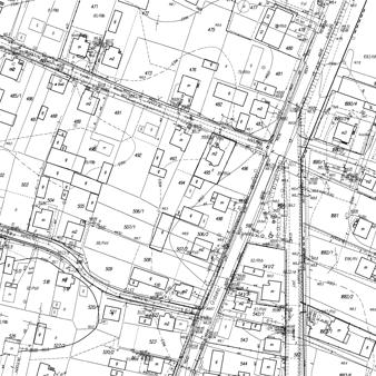 Mapa podziału nieruchomości w Lublinie